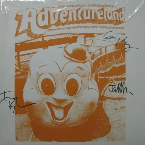 Signed Vinyl of the Score to Adventureland