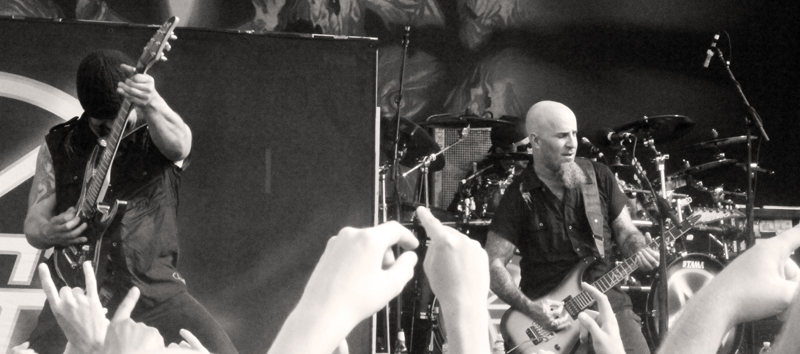 anthrax performing at Mayhem Fest in Atlanta