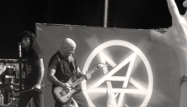 Scotty Ian and Joey Belladonna of Anthrax live at Mayhem in Atlanta