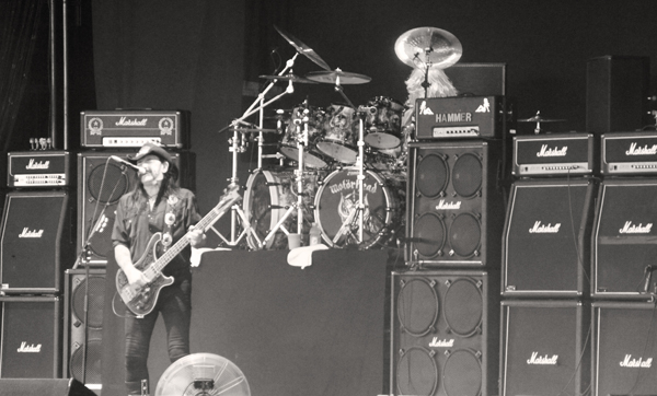 Lemmy of Motorhead at Mayhem Fest in Atlanta