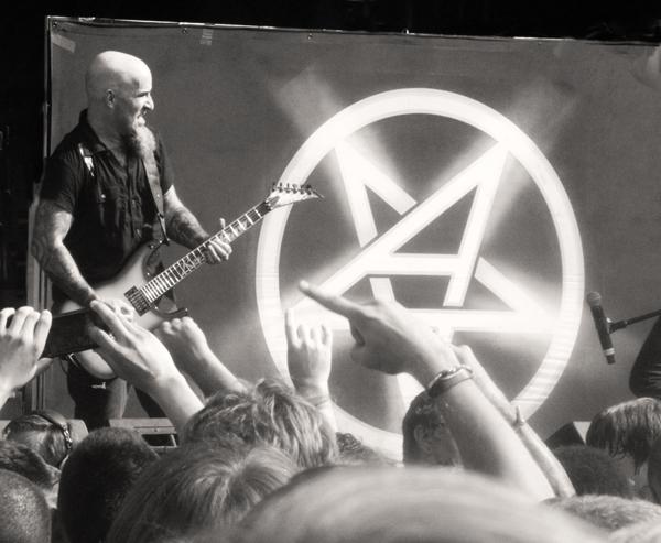 Scott Ian of Anthrax in Atlanta