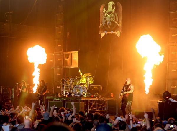 Slayer live at Mayhem Fest in Atlanta