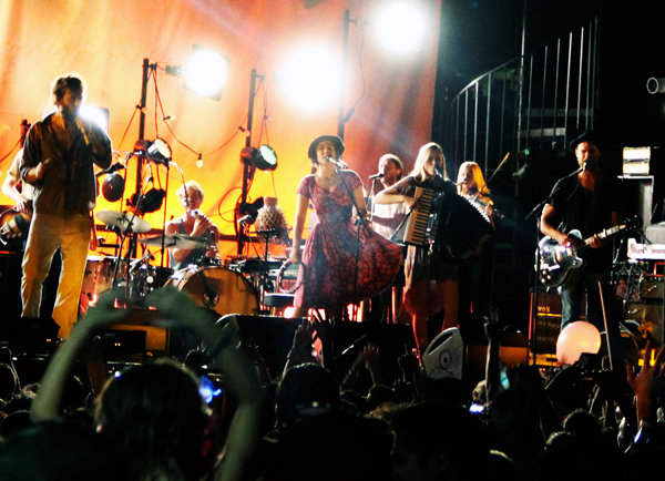 Edward Sharpe & The Magnetic Zeroes at Jannus Live in St. Pete
