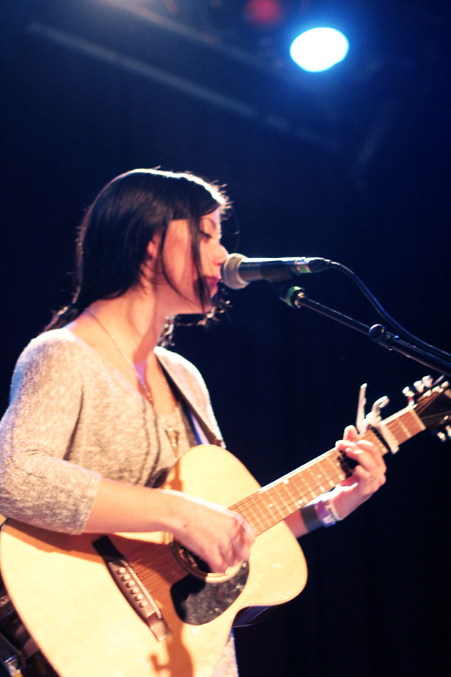 Sharon Van Etten playing live at The Social